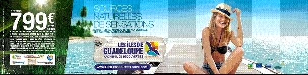 Les Iles de Guadeloupe lancent une 2e vague de communication