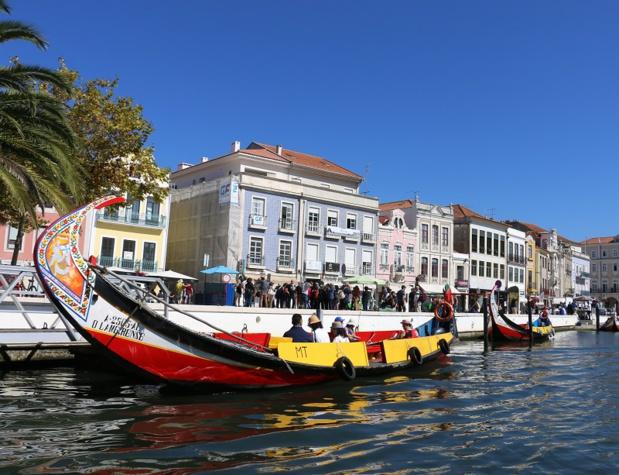 La vieille ville d'Aveiro est sillonnée de canaux qui lui donnent un air immanquablement vénitien - DR : J.-F.R.