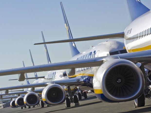 Ryanair annonce une baisse de 6% de ses tarifs qui a stimulé le trafic avec 142 millions de passagers annuels - DR Ryanair