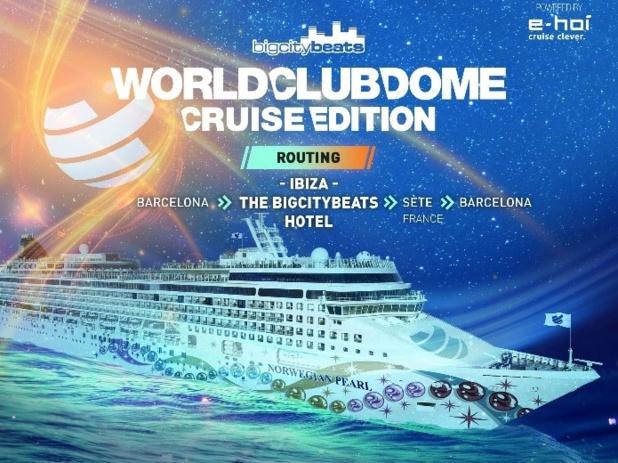 Au départ de Barcelone, le Norwegian Pearl fera route pendant cinq jours sous le soleil estival de la Méditerranée avec deux escales - l'une à Ibiza et l'autre à Sète - DR : Norwegian