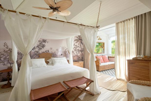 Une des chambres du Paradise Cove Boutique Hotel - DR
