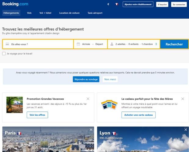 """Partenariat Amadeus - Booking : """"Les agences de voyages verront les options d'hébergement mises à disposition par Amadeus augmenter de 30 %"""""""