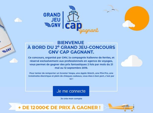 Ce concours, organisé par GNV, la compagnie italienne de ferries, et réservé exclusivement aux professionnels en agence de voyages - DR