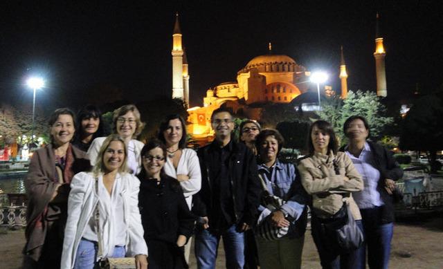 Bleu Voyages : les responsables d'agences à Istanbul