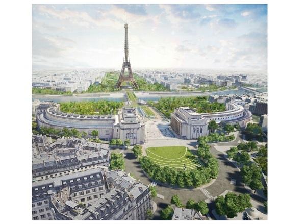 Le début de l'aménagement est estimé à l'année 2021 pour une livraison à la fin 2023 - Crédit photo : Ville de Paris