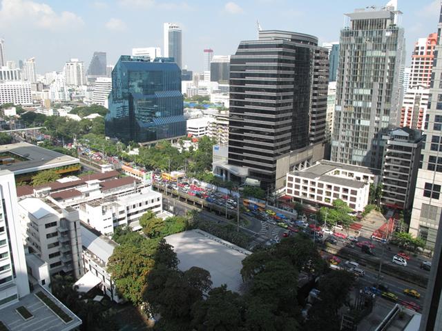 Thaïlande : le centre de Bangkok toujours épargné (photo)