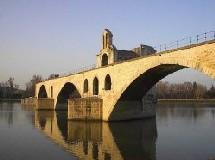 Le célèbrissime Pont d'Avignon
