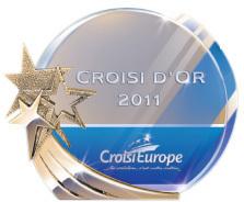 Croisi d'Or : CroisiEurope récompensera les meilleures agences !