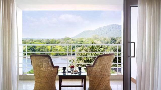 The Gateway Hotel Gir Forest se situe dans l'état de Gujarat en Inde, en lisière du parc national de la forêt de Gir - DR