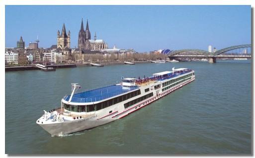 Le dernier fleuron de la flotte effectuera des croisières de 7 jours entre Amsterdam et Bâle