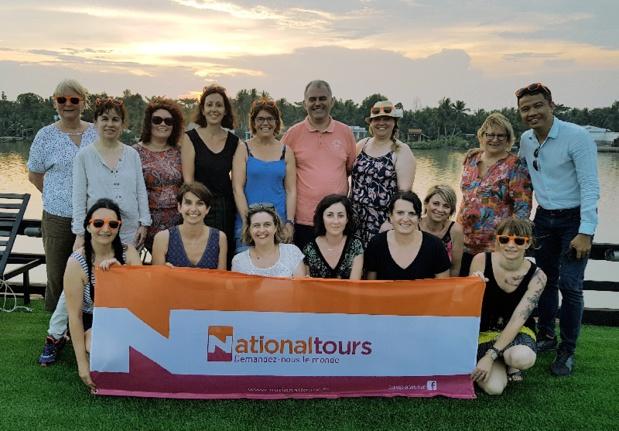 Le groupe d'agents de voyages en éductour au Vietnam - DR