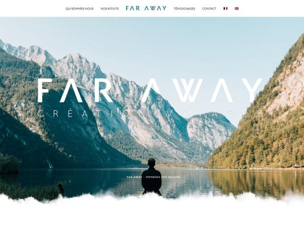 LCPA a lancé une seconde marque, Far Away Création Voyages. Elle cible les groupes et les individuels Adultes, ainsi que les Familles et capitalise sur le savoir-faire de Passion Aventure Junior - DR : Capture d'écran