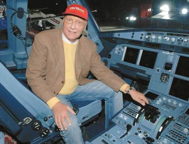 """Niki Lauda vient de céder les 50,1% de sa compagnie """"Niki"""" à Air Berlin - DR"""