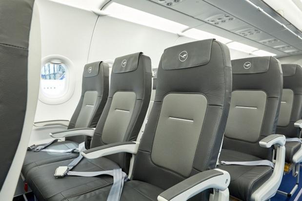 Lufthansa introduit de nouveaux sièges sur le court et moyen-courrier fabriqués par l'italien Geven. -  DR