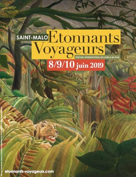 L'affiche du festival Etonnants Voyageurs à Saint-Malo - DR