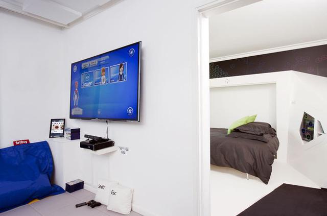 Paris novotel ouvre une chambre futuriste for Alcove dans une chambre