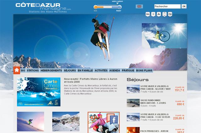 Côte d'Azur : le CRT Riviera lance un site dédié à son offre montagne