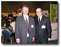 Patrick Loison, président de TourCom Affaires et Richard Vainopoulos