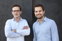 Julian Weselek et Julian Stiefel, cofondateurs de Tourlane - Crédit Photo : Tourlane