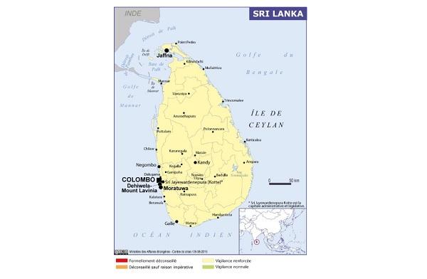 """Sri Lanka : """"les départs des voyages à forfait sont à nouveau assurés"""" selon le SETO - Crédit photo : France Diplomatie"""