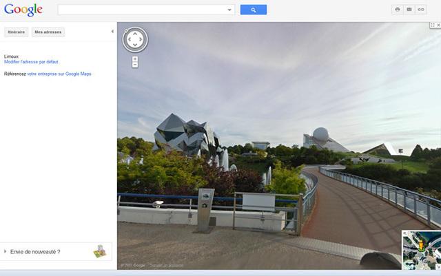 Les internautes pourront visiter le parc directement sur Google Street View - Photo DR