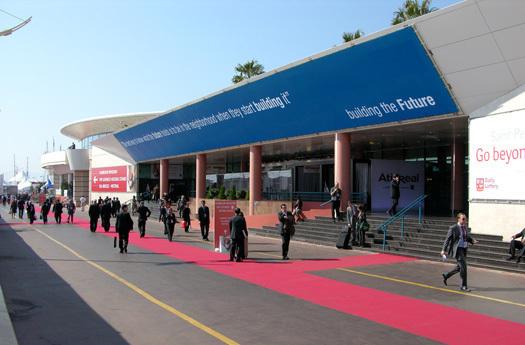 Plusieurs nouveaux congrès seront organisés en 2012-2014 au Palais des Festivals et des Congrès de Cannes - Photo DR