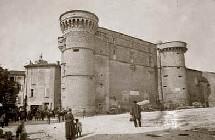 Château de Gordes en 1870