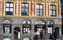 Cette agence Cap 5, située sur la place du Général de Gaule, à Lille, est le vaisseau amiral de l'entreprise sur le segment du loisir - DR