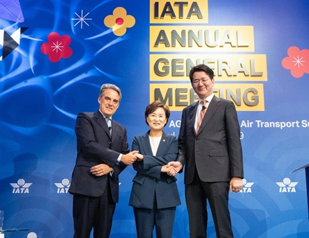 La 75ème Assemblée Générale Annuelle de IATA (International Air Transport Association) a eu lieu du 1er au 3 juin à Séoul. - DR