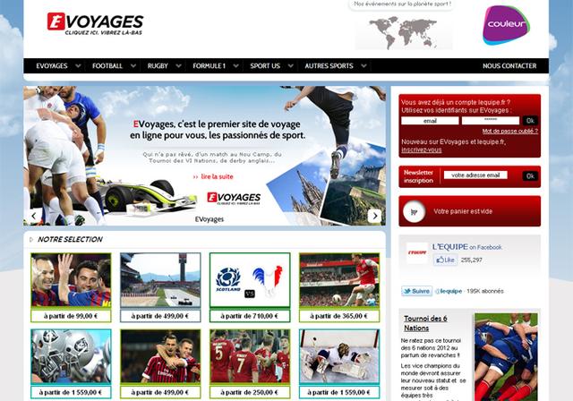 Agence en ligne : le journal L'''Equipe'' et le Groupe Couleur entrent dans la mêlée...