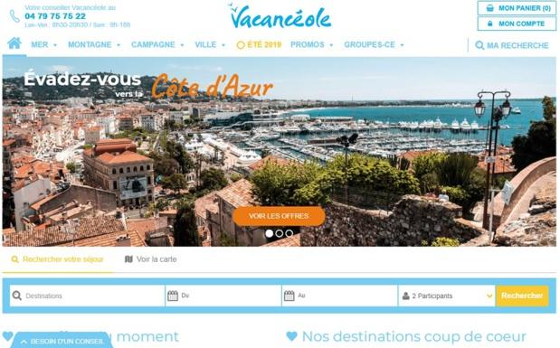 Le spécialiste des résidences de tourisme en France a entièrement revu son bloc marque, sa charte graphique, ses supports d'édition et site internet. - DR