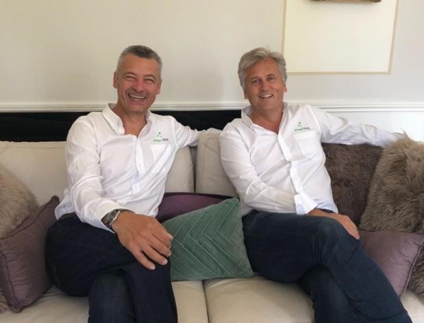 William Lecerf et Valéry Linyer, co-fondateurs de MagicStay - DR : MagicStay