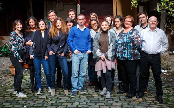 L'équipe de Croisières d'exception à Paris - DR