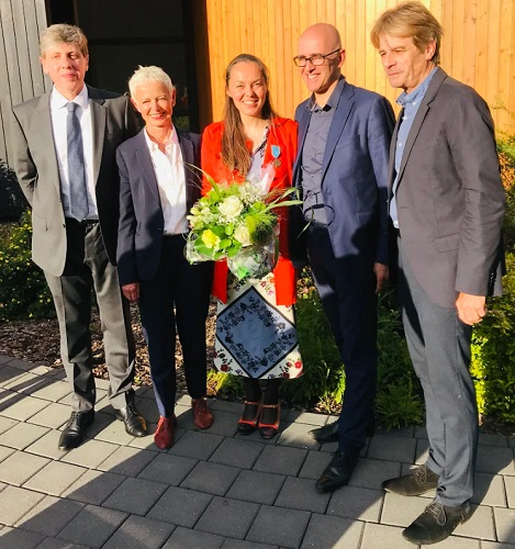 Véronique HERBRETEAU, première guide-conférencière à recevoir la Médaille du Tourisme - DR