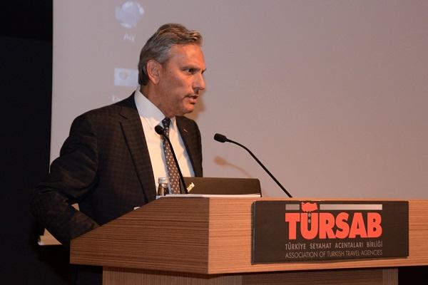 Firuz Bağlıkaya le président du conseil d'administration de TURSAB et artisan du renouveau du syndicat - Crédit photo : TURSAB