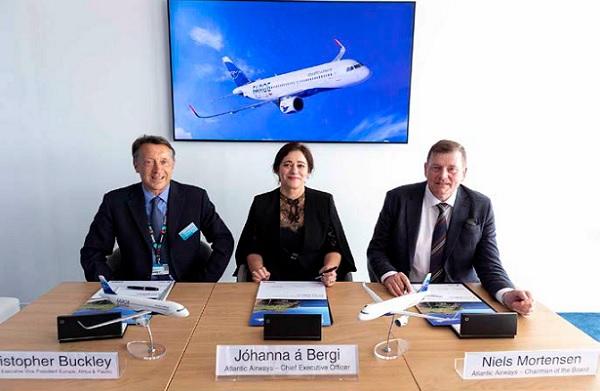 Atlantic Airways commande deux Airbus A320neo - Crédit photo : Airbus