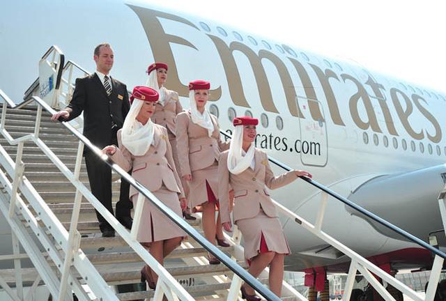 Emirates recrute du personnel navigant à Nice