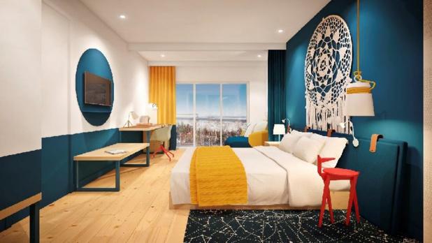 Le design des chambres a été dévoilé lors de la cérémonie de la première pierre au Club Med Charlevoix - DR