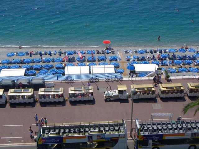 La promenade des Anglais à Nice sera reliée en 2019, en 3 heures de train à Milan. Photo DR