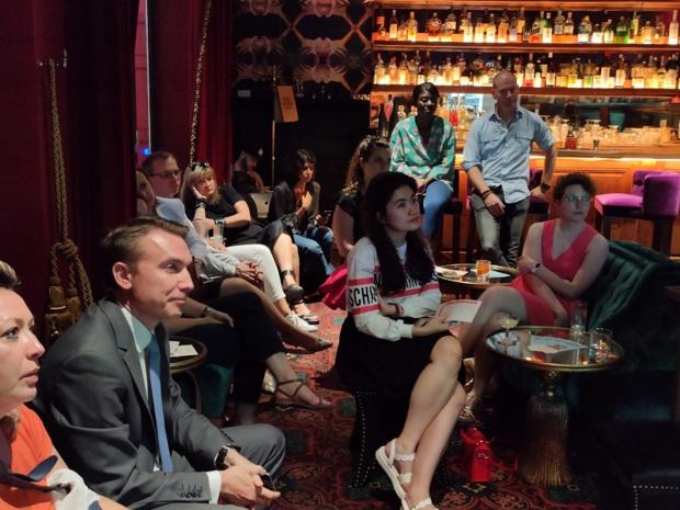 Le 18 juin, au sein de l'hôtel 1K, partenaire du Festival, une vingtaine des professionels du tourisme se sont réunis pour une soirée présentation-networking et dégustation avec le chef mexicain Pepe Salinas - Photo DR