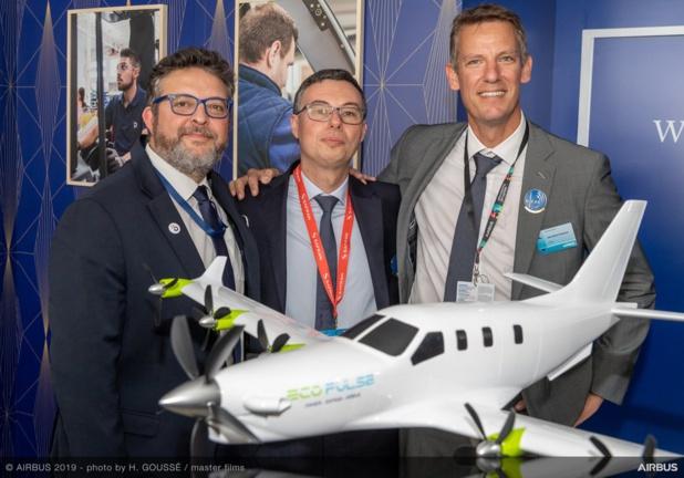 Ecopulse un projet Daher, Safran et Airbus - DR