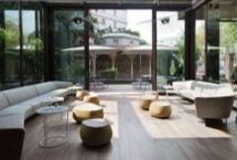 L'hôtel E.C.HO de Milan faite une large place à la nature - DR