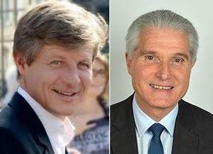 Nicolas Florian et Patrick Bobet - DR