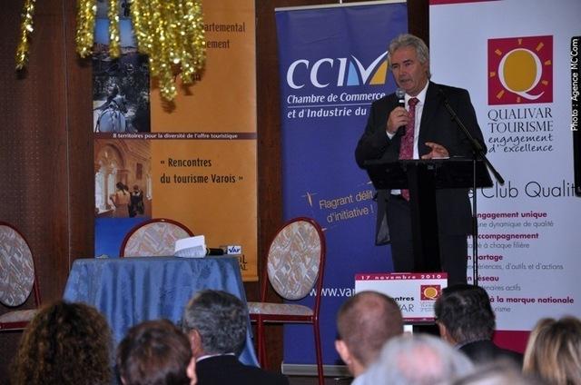 Jacques Bianchi, Président de la CCIT du Var, ouvrira les 5e Rencontres Qualivar Tourisme le 14 décembre 2011, à 9h - Photo DR