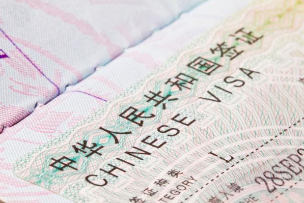 Chine : saisie des empreintes digitales obligatoire pour l'obtention du visa