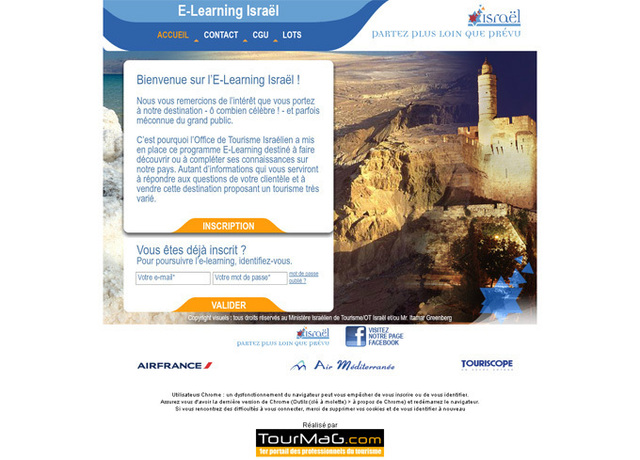 L 39 office de tourisme isra lien met en ligne son e learning - Office du tourisme israel ...