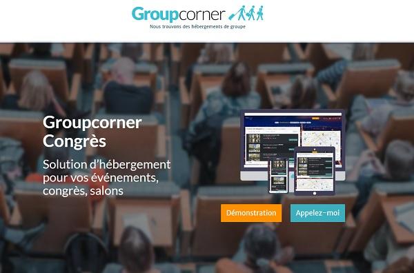 """Groupecorner lance """"Congrès"""" un widget pour les réservations des hébergements lors des salons - Crédit photo : Groupcorner"""