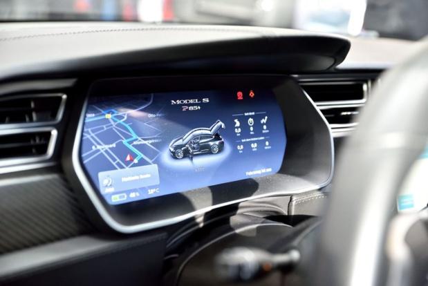 Tesla est en négociation avec Universal Pictures pour diffuser dans ses véhicules des films et séries TV  - DR tesla