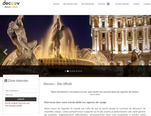 Le nouveau site B2B dédié aux voyages à la carte de Decoov - DR