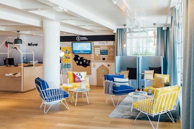 Couleurs, mobilier, espaces thématisés… La réception n'est plus un simple lieu de passage, elle fait désormais partie intégrante du séjour - DR : P&V